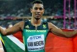 Van Niekerk terancam absen di kejuaraan dunia karena cedera lutut