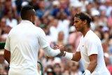 Rafael Nadal bungkam Nick Kyrgios babak kedua Wimbledon