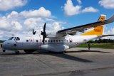 Pesawat CN 235 TNI AU bantu mencari helikopter MI 17 TNI AD