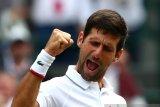 Novak Djokovic lolos ke perempat final Wimbledon ke-11