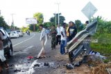 Kecelakaan di Aceh Jaya,  satu penumpang Avanza putus kaki