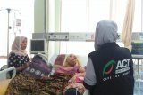 ACT-MRI NTB santuni korban tabrak lari di Lombok Barat