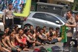 Polresta Yogyakarta menangkap bonek bersenjata tajam