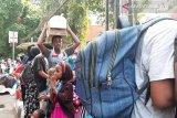 Perjalanan panjang pengungsi di Kebon Sirih cari keamanan