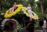 Mahasiswa 12 negara mengikuti parade bunga Beautiful Malino