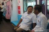 Jerry Massie sebut rekonsiliasi Jokowi-Prabowo di MRT menjadi sejarah