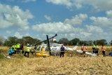 Helikopter jatuh di Lombok, KNKT masih mencari penyebabnya