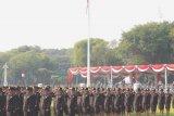 Presiden jokowi minta perwira remaja ikuti perkembangan Iptek