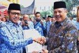 Wali Kota Solok dianugerahi Penghargaan P4GN dari BNN Sumatera Barat