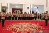 Presiden Joko Widodo lepas Pramuka Indonesia ke Jambore Kepanduan Dunia