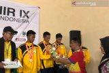 Palu raih perunggu Cabor Takraw setelah 'bantai' Makassar di Pionir IX
