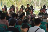 Danrem 044/Garuda Dempo kunjungi keluarga korban bentrok Mesuji