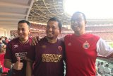 Iqbal Suhaeb-Anies Baswedan nonton langsung final Piala Indonesia