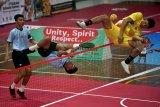 Tim sepak takraw beregu putra Indonesia raih perak