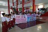 Anak-anak Mitra kampanyekan anti kekerasan