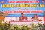 Cegah peredaran narkoba, Wakapolda Kalteng berkunjung ke Lamandau