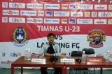 TImnas U23 gilas Lampung FC 2-0 di laga uji coba