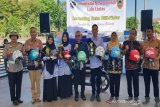 Helm Pasang Satukan Klik-Pintar kreasi siswa SMAN 1 Banjarmasin diluncurkan