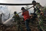 200-an prajurit TNI ikut berjibaku padamkan karhutla