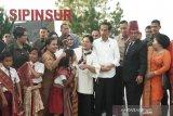 Hari kedua di Sumut, Presiden meninjau pengembangan destinasi wisata