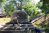 Replika Stupa Borobudur berdiri di Ukraina