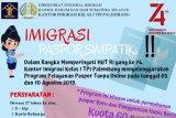 Imigrasi Palembang gelar layanan  paspor simpatik HUT RI