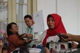 Baiq Nuril sampaikan terima kasih kepada Presiden Jokowi