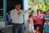 Ridha Saleh didukung nelayan-petani maju calon wakil gubernur Sulteng