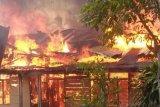 Kebakaran ruko  di Cipayung, tiga tewas