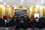 KPU Sangihe pleno penetapan calon terpilih anggota DPRD