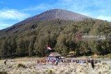 Kuota pendaki di Semeru penuh, saat upacara 17 Agustus