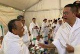 Perjalanan jamaah Indonesia ke Arafah tak ada kendala