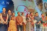 Pertama kalinya Hanung Bramantyo dapat standing ovation atas