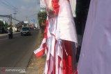 Penjual bendera di Sleman bisa raup untung hingga Rp10 juta