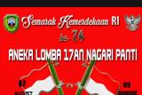 Semarakkan HUT ke-74 Republik Indonesia, beragam lomba dibelar