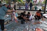 Petugas kesehatan kurban Mataram menemukan empat kasus cacing hati