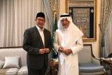Menag Lukman temui Gubernur Mekkah, minta penambahan daya tampung tenda-tenda dan toilet di Mina