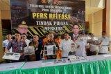 Polda Jatim bekuk pelaku perdagangan merkuri ilegal, salah satunya asal Kalimantan