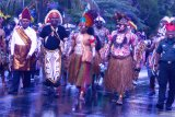 Parade budaya Nusantara warnai perayaan hari Kemerdekaan RI di Biak Numfor