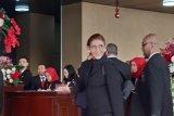 Menteri Susi Pudjiastuti tampil serba hitam hadiri Sidang Tahunan MPR