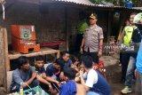 Gerebek Kampung Narkoba, polisi tangkap delapan orang