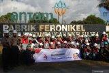 Peserta SMN Bangka Belitung kunjungi Antam Pomalaa