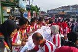 Siswa Mengenal Nusantara Kalsel kampanye pengurangan sampah plastik di Padang