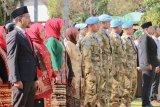 Pasukan perdamaian Indonesia ikuti upacara HUT Kemerdekaan RI di Afrika