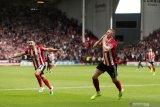 Liga Inggris -- Tim promosi Sheffield United dekatkan jarak dengan Arsenal usai cukur Burnley 3-0