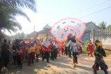 Siswa sekolah di Lampung Timur masih rayakan HUT Kemerdekaan