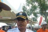 Taman kota Palembang  segera dilengkapi air mancur menari