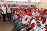 Peserta SMN Sumut berkunjung ke  RKB Telkom Palu