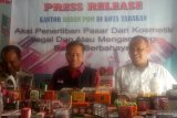 BPOM Tarakan tertibkan kosmetik ilegal dan mengandung bahan berbahaya