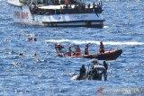 Gelombang kapal migran kembali berdatangan ke pulau Lampedusa, Italia